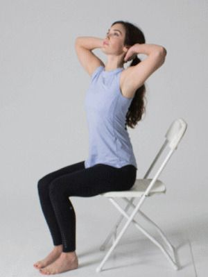 Chair Rotation Exercise -Upper Back Stretches:15 Best Moves Upper Back Pain Relief