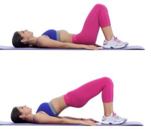 Glute Bridges - 10 Best Exercises to Lose Thigh Fat Fast in a Week at Home