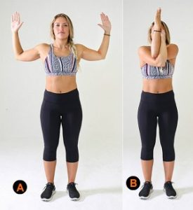 Shoulder Blades -Upper Back Stretches:15 Best Moves Upper Back Pain Relief