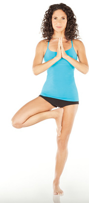 Tree Yoga Pose - 10 Yoga Poses for Weight Loss and Flat Belly