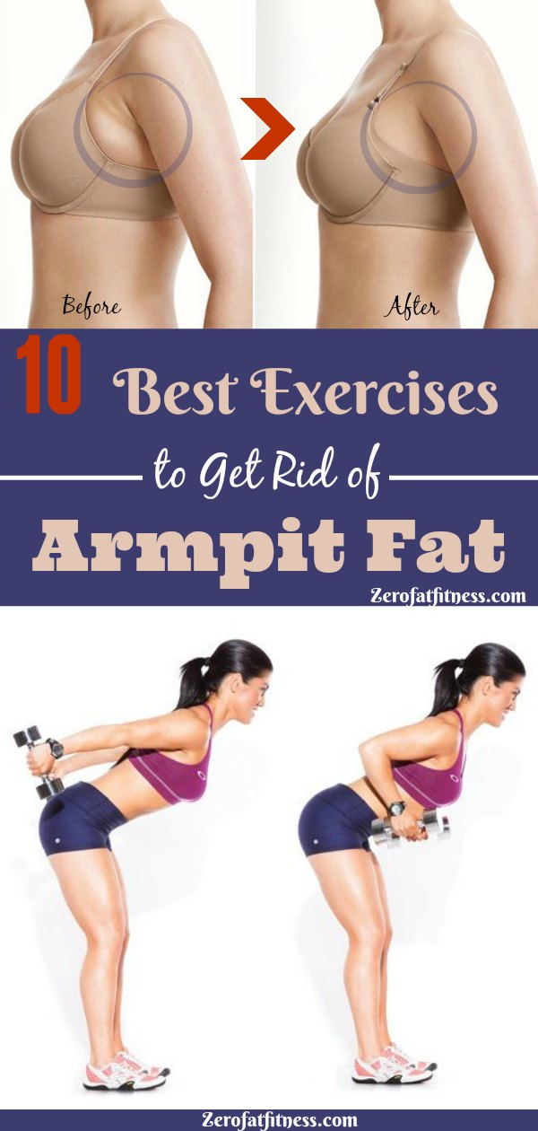 How to Get Rid of Armpit Fat in a Week-10 Best Underarm Fat Exercises