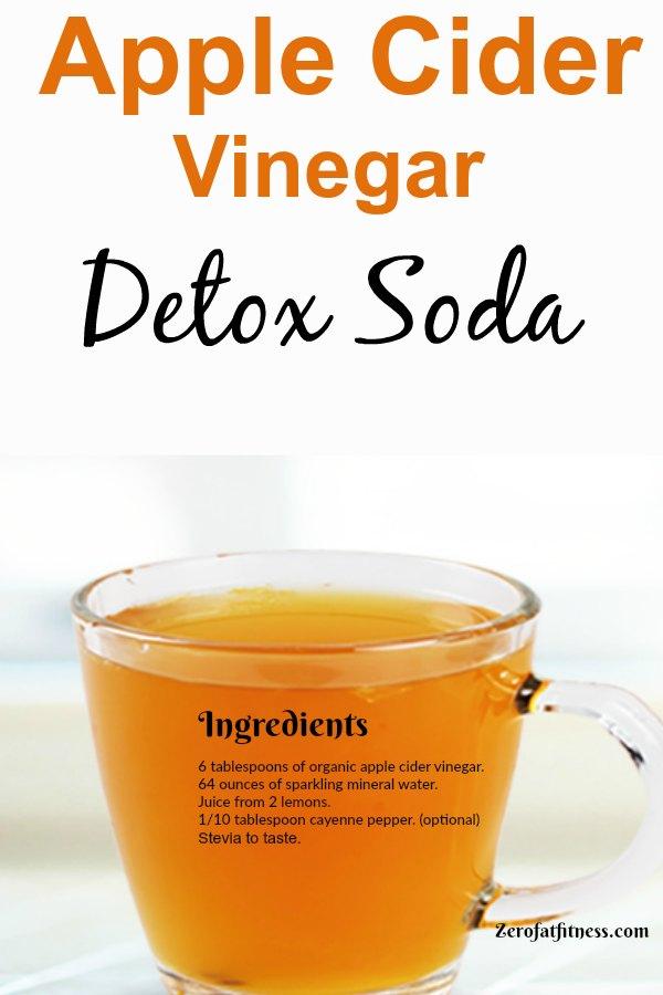 Apple Cider Vinegar Detox Soda