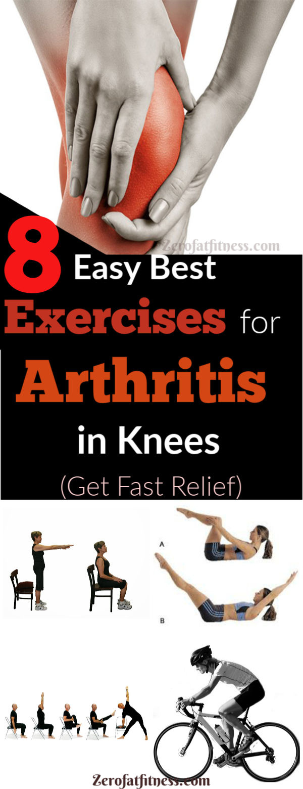 8 Easy Best Exercises for Arthritis in Knees (Relief Joint Pain)