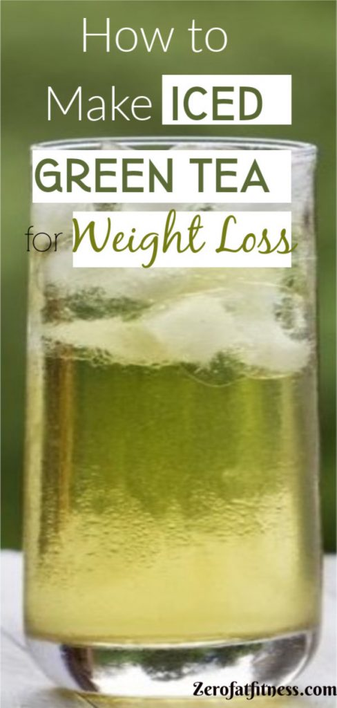 7 Best Green Tea for Weight Loss and Belly Fat Burner | Iced Green Tea for weight loss and Flat Tummy