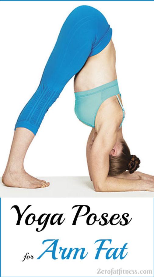 Yoga pose to lose arm fat