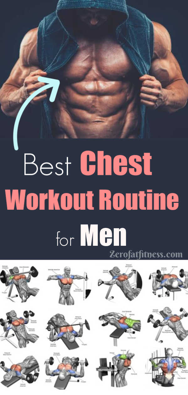 Chest Workout Routine for Men - Best 11 Workouts for Ripped