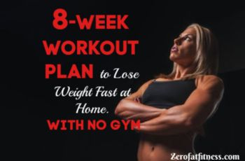 8-Week Workout Plan to Lose Weight Fast at Home- With No Gym