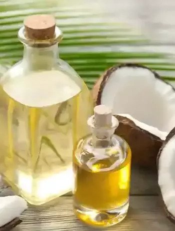 Coconut Oil for Strawberry Legs