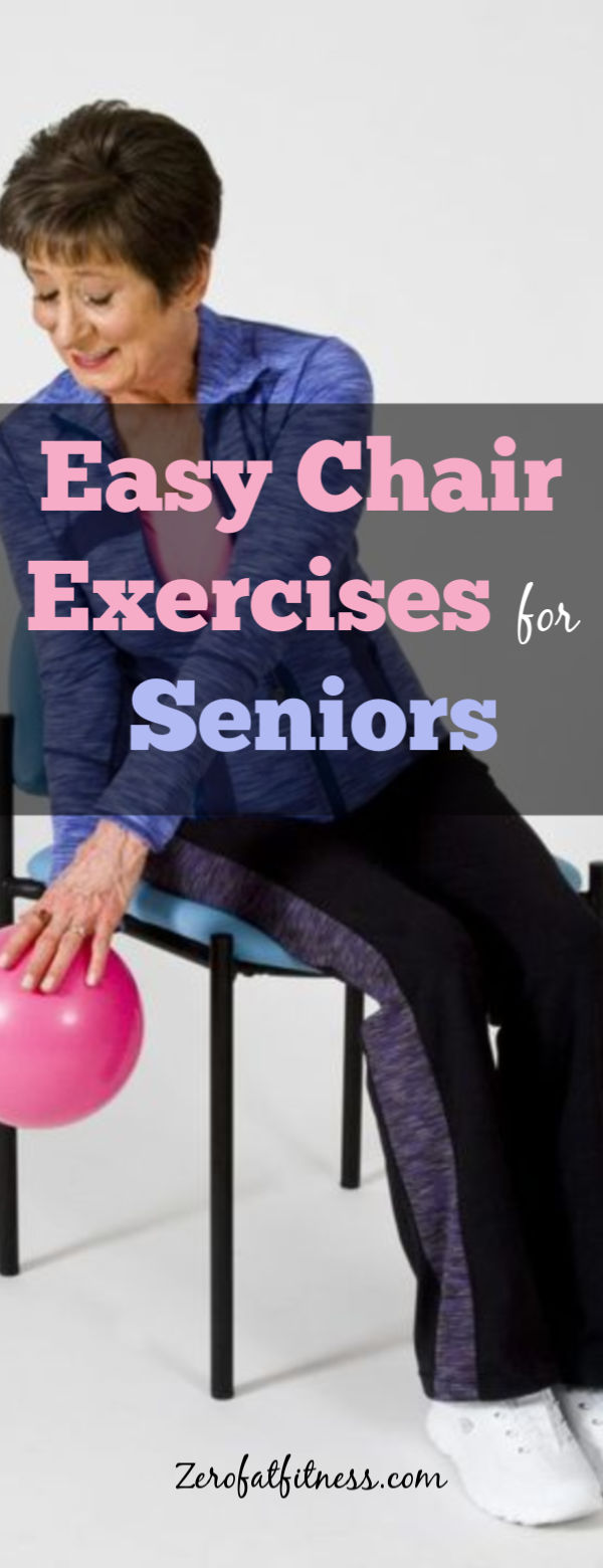 Simple Chair Exercises for Seniors- 10 Seated Chair Workouts at Home and Office
