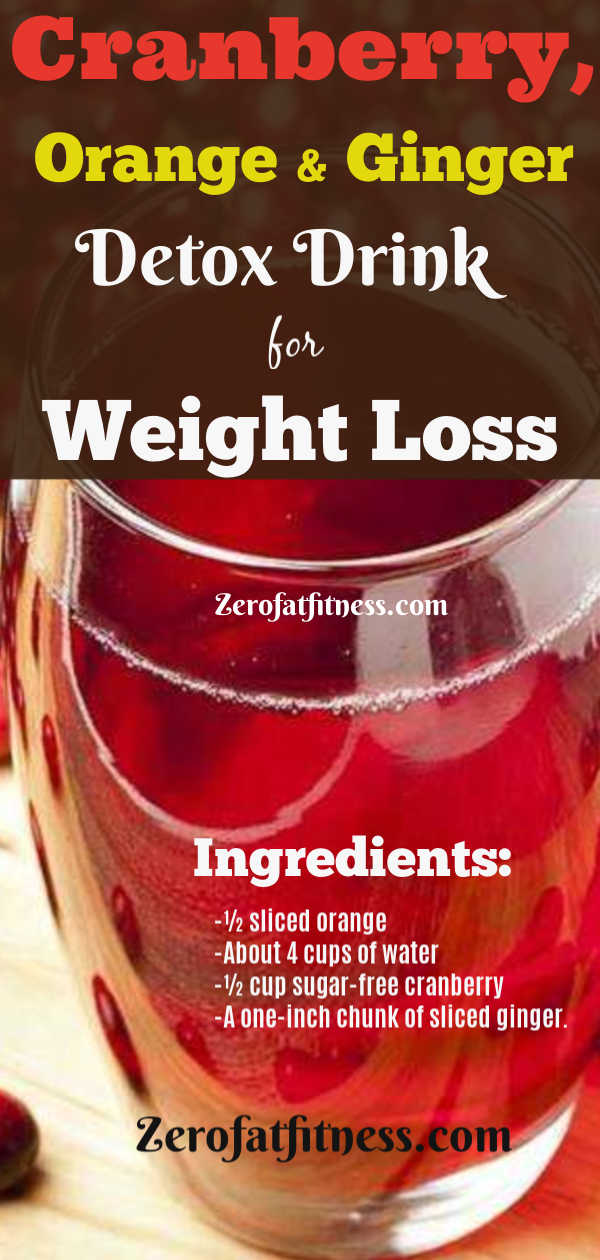 Flat Belly Overnight >> 5 Fat Flush Cranberry Detox Drink Recipes for Weight Loss and Flat Belly