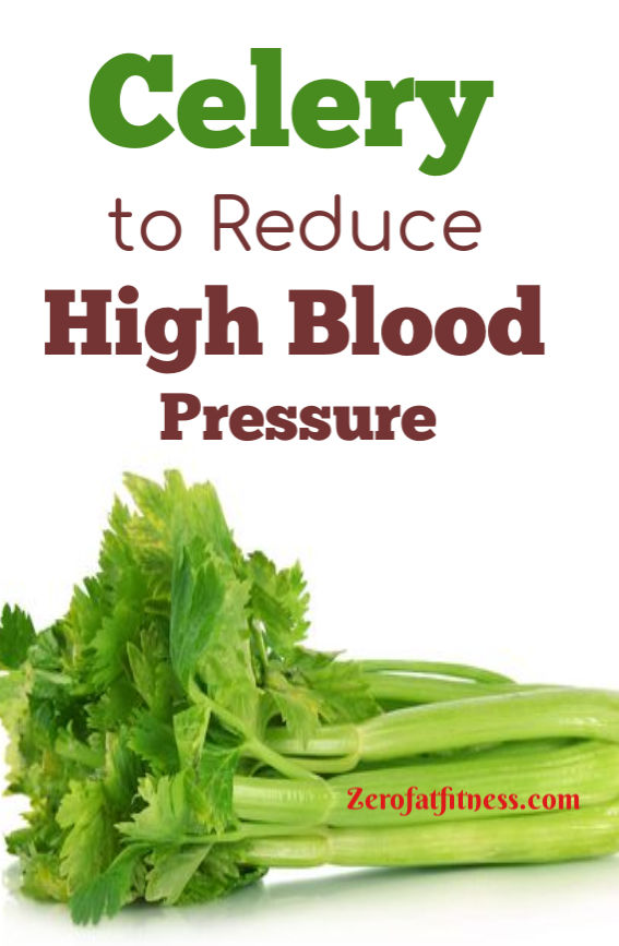 Celery to Reduce High Blood Pressure