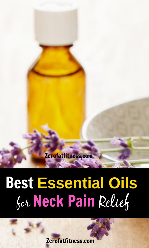 Essential oils for Neck Pain Relief