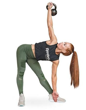 Kettlebell Windmills for Weight Loss and Flat Belly