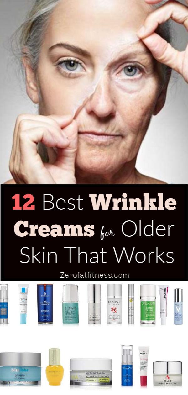 12 Best Anti Wrinkle Creams for Aging Skin That Works