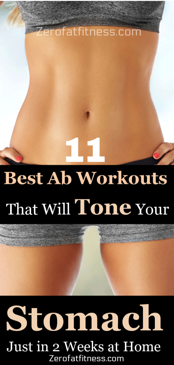 11 Easy Ab Exercises to Tone Stomach in 2 Weeks at Home