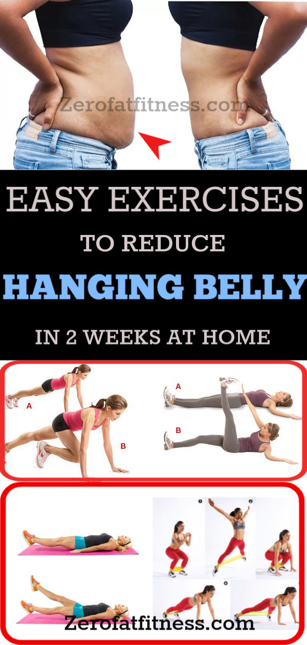 9 Best Exercises to Get Rid of Hanging Belly Fat in 2 Weeks