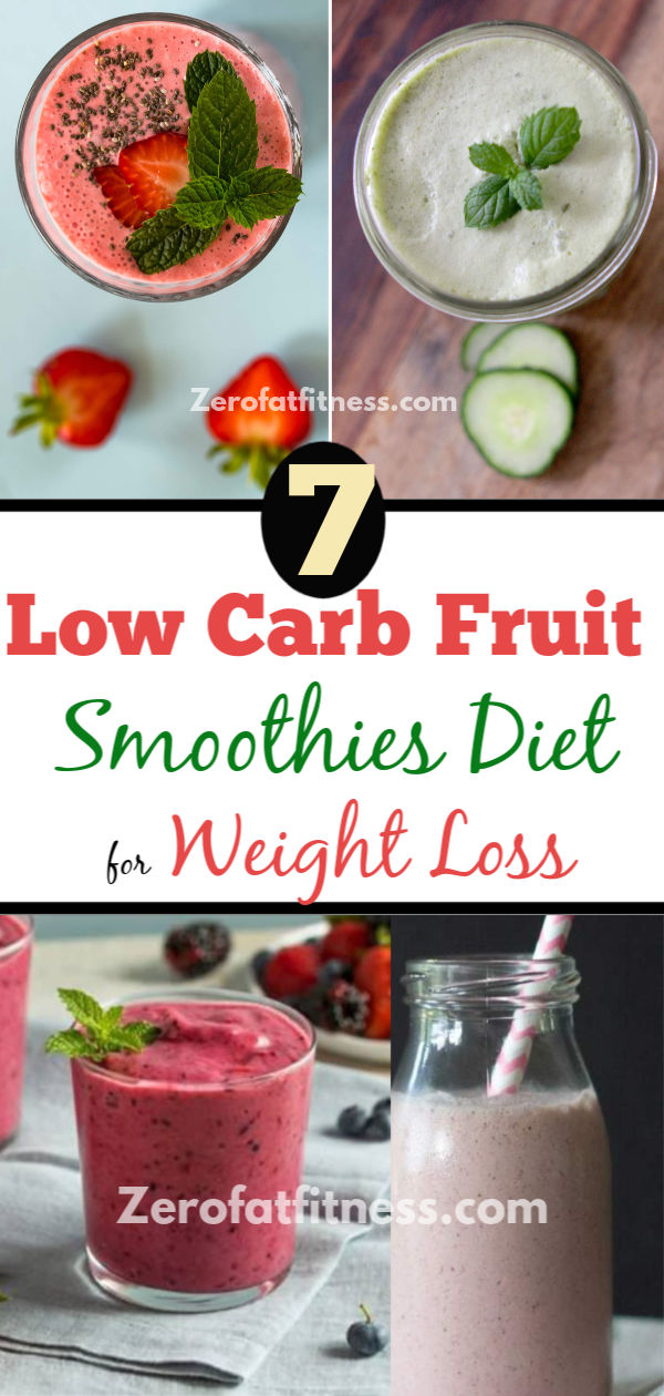 Easy Keto Smoothie Recipes: 7 Low Carb Fruit Smoothies Diet for Weight Loss