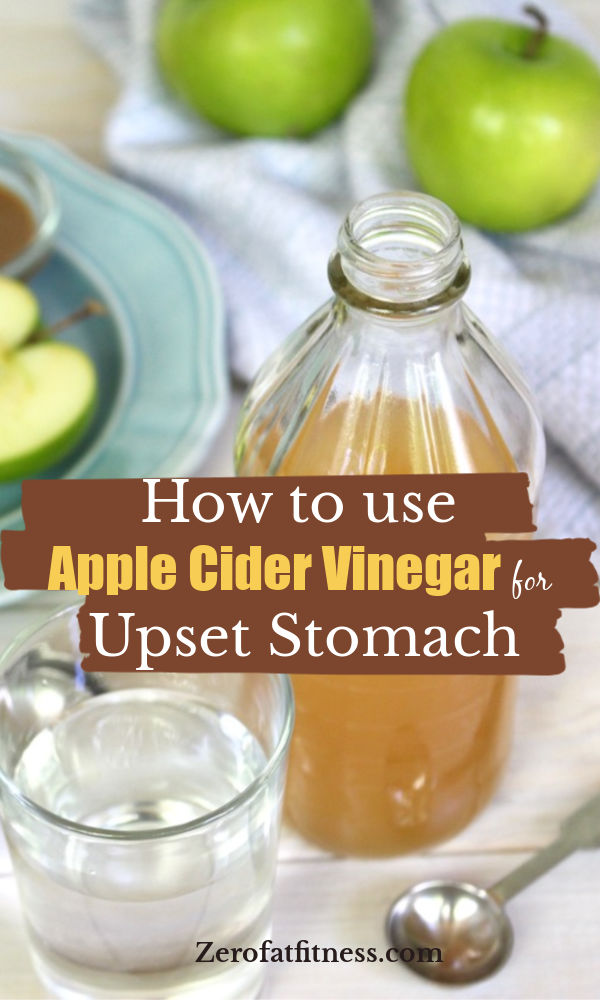 how to use apple cider vinegar for upset stomach at Home