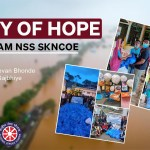 A RAY OF HOPE From Team NSS,  SKNCOE