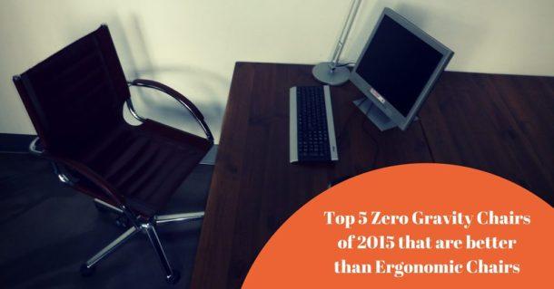 Indoor zero gravity chair