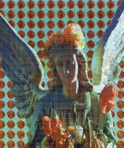 Angel Rose Blotter Art