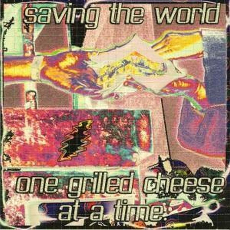 Grilled Cheese Blotter Art