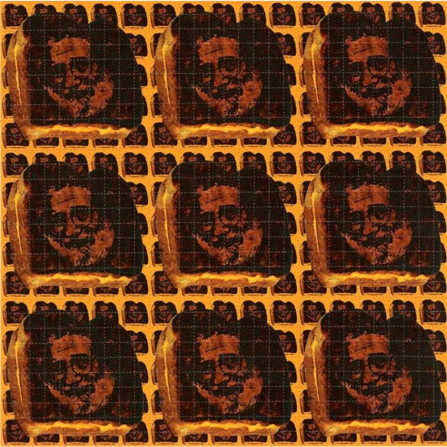 Jerry Grilled Cheese Blotter Art