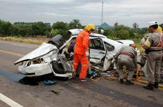 Acidente em Agudo eleva para 15 o número de mortes no trânsito neste final de semana Erni Böck, especial/