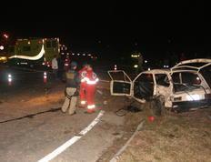 Colisão entre ônibus e carro causa três mortes em Rio Grande Marcio Gandra/Especial
