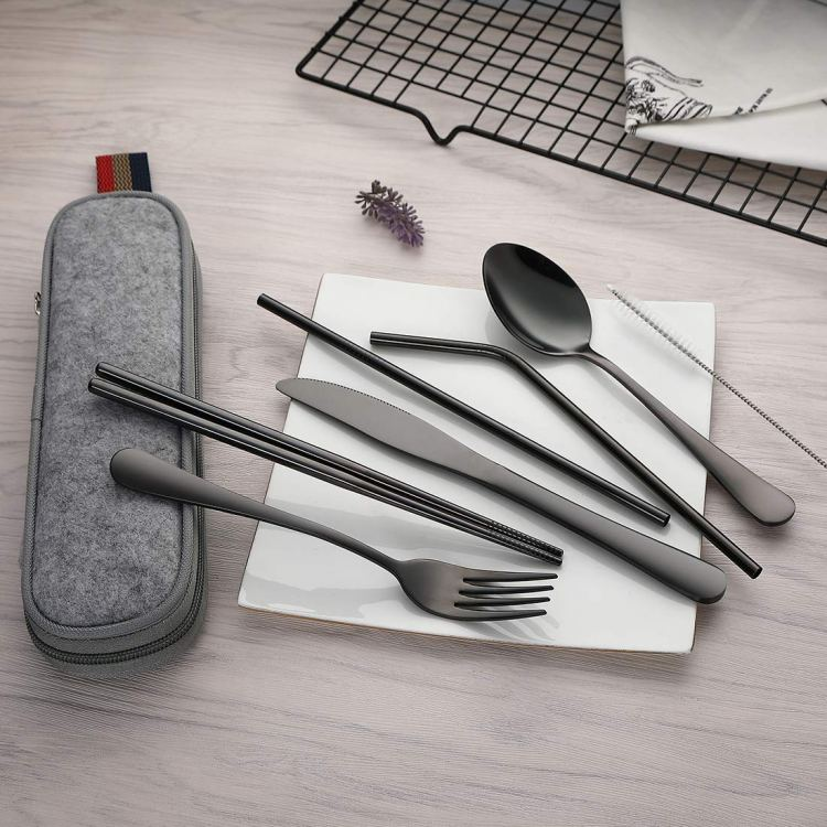 Zero Impact Travel Holiday Gift Guide - reusable cutlery
