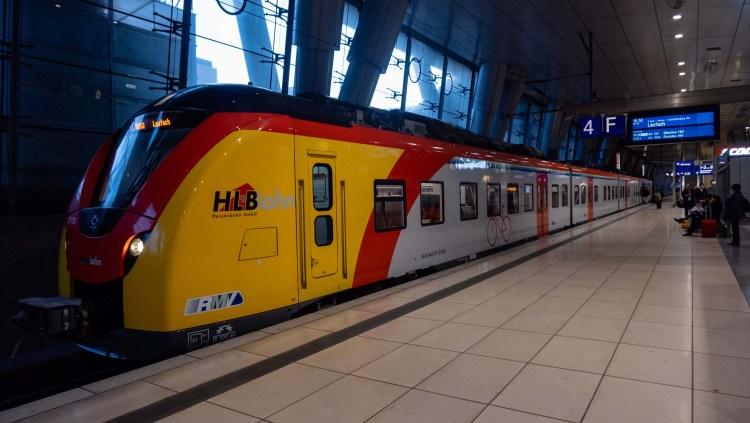 Train in Frankfurt