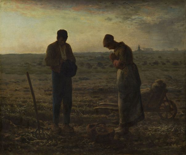 Jean-François Millet (1814–1875) The Angelus, from 1857 until 1859