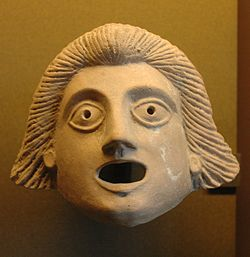 Greek theatre mask