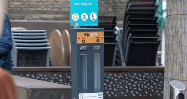 MéGO! – le système de collecte et de recyclage des mégots de cigarettes