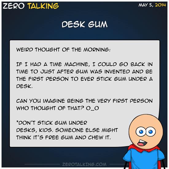 desk-gum-zero-dean