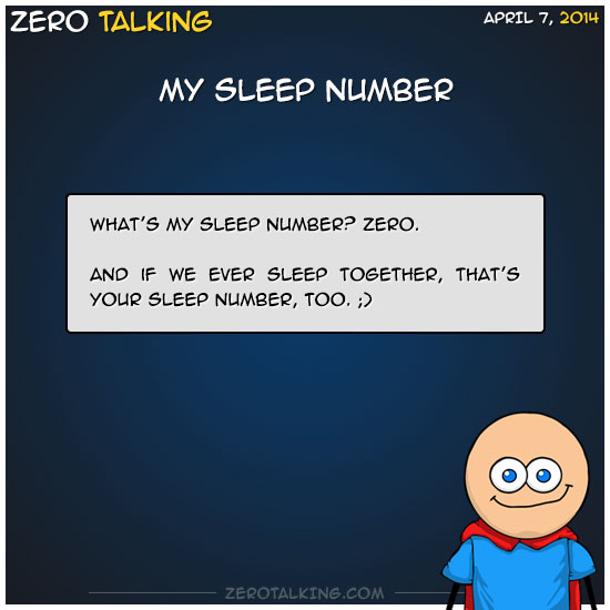 my-sleep-number-zero-dean