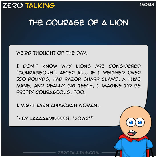 the-courage-of-a-lion-zero-dean