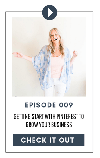 Podcast on Getting Started with Pinterest for Business