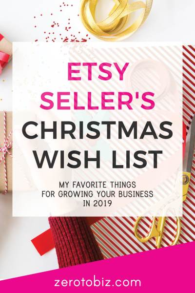 My favorite tools and products for growing your Etsy shop in 2019!