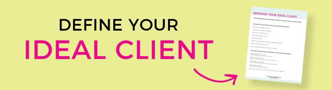 Ideal Client Worksheet