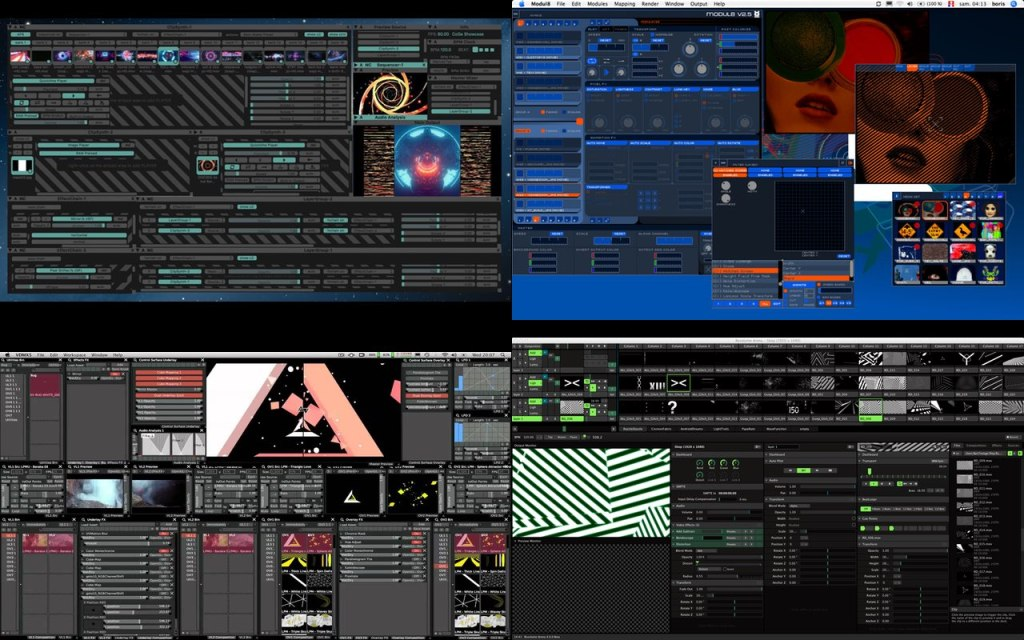 Resolume-Coge-VDMX-Modul8