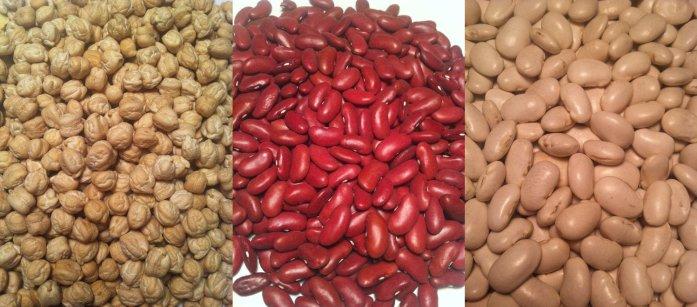 3 beans