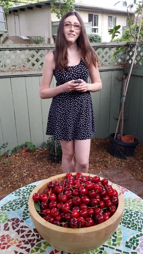 1 MK and cherries