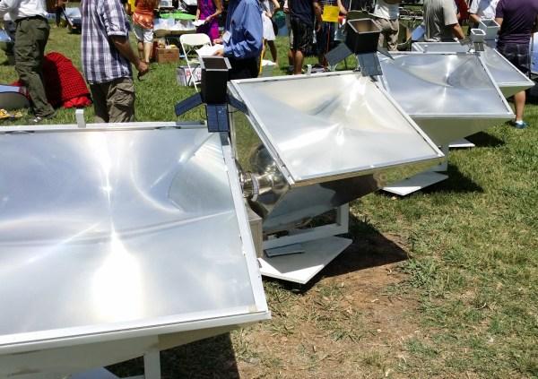 fancy solar cookers