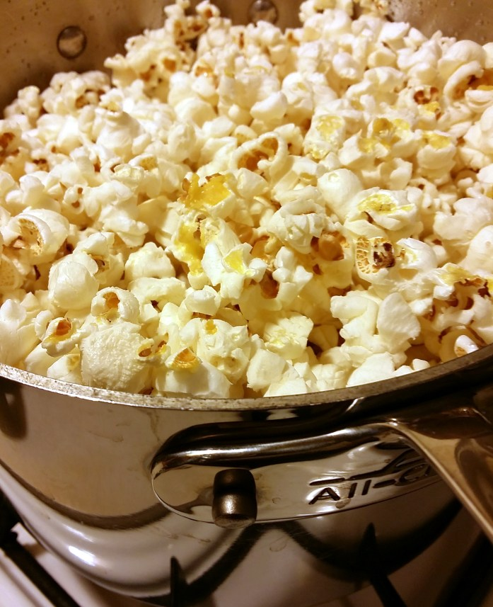 zerowaste popcorn