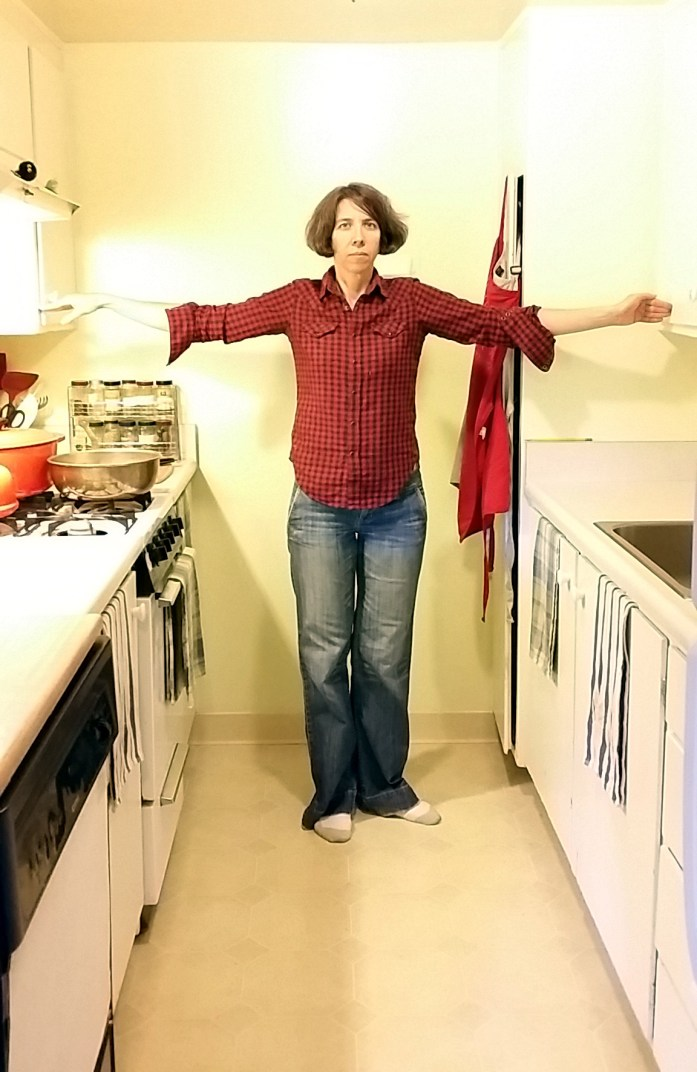 kitchen size perspective