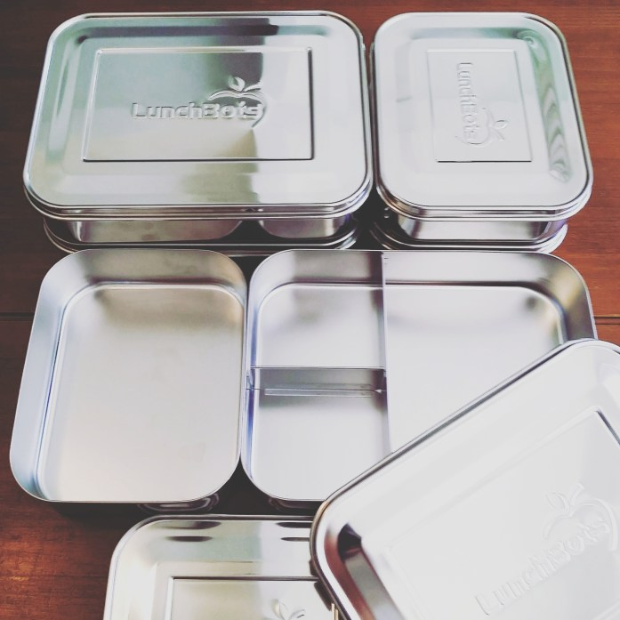 metal lunch containers