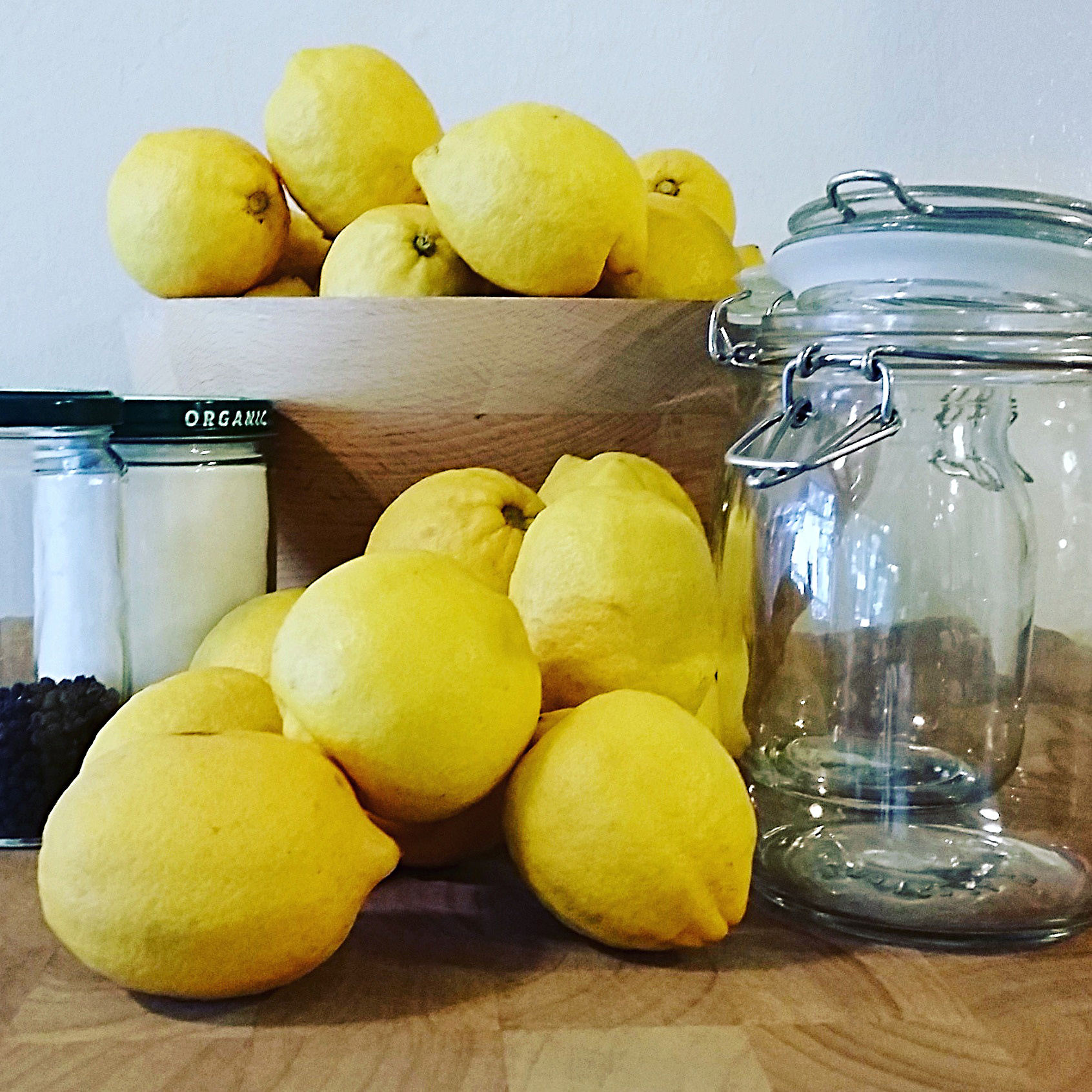 how to make lemon sorbet