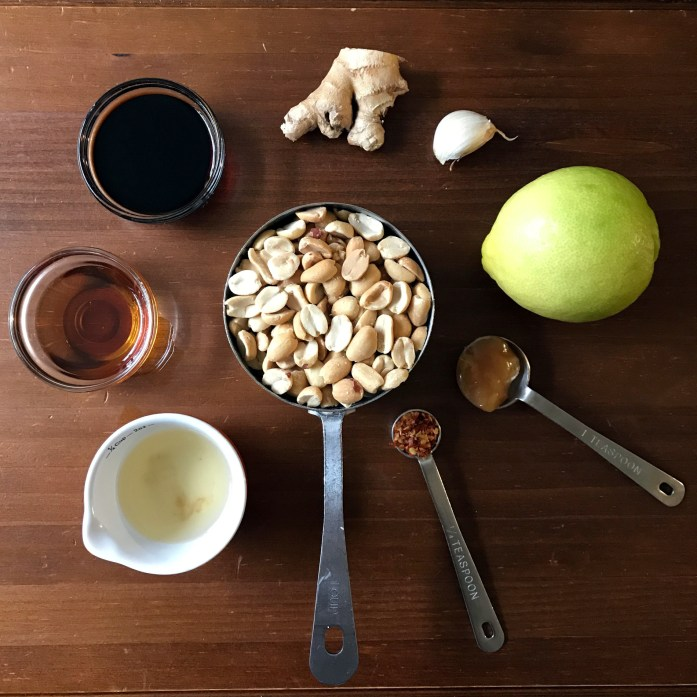 peanut sauce ingredients