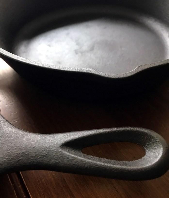 cast iron maintenance
